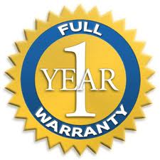1 Year Warranty Information